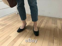 Handmade Women Bow Slide Leather Hollie Mule Knot Tie Flat Sandals Slippers Row