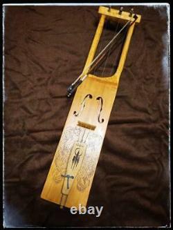 Handmade jouhikko, Tagelharpa, Talharpa, Scandinavian bowed music instrument