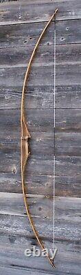 Handmade traditional longbow 51#@28'' American flatbow AFB