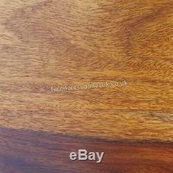 Jali 3 Drawer Bow Chest & Bedside Sheesham Wood Furniture Honey Colour