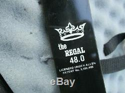 Jeffery Enterprise The Regal 48.0 Handmade Hybrid Compound Bow BEAR CASE ARROWS