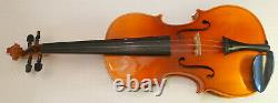 Karl Knilling 4/4 full Violin handmade in Germany Hard case, Chin piece and bow