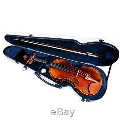 MagiDeal Handmade Acoustic 4/4 Full Size Violin with Rosin Bow Bridge Box Set
