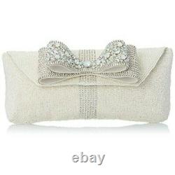 Mary Frances Stardust Designer Clutch Bag New Cute Rare Handbag Star Bow USA