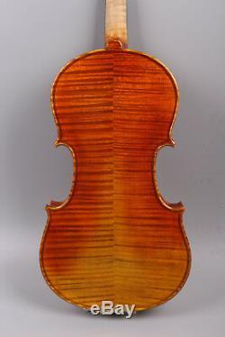 Master yinfente violin Handmade Stradivari model Violin+bow+case+rosin #2049