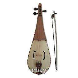 Medieval Rebec fiddle 3 strings handmade