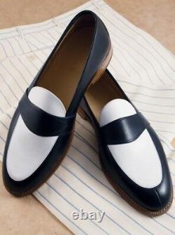Mens fashion two tone formal shoes, Men dress shoes, Spectator shoes moccasins