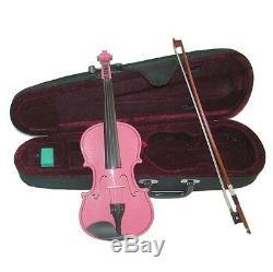 Merano VA100-MP Pink Handmade Viola withCase & Bow ANY SIZE 16.5 to 10