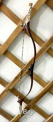 Mongolian Handmade Traditional Bow for Hunting, Archery, Target