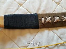 Mongolian Recurve Bow Very good condition hand made in Hereford Archery bow