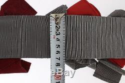 NWT DOLCE & GABBANA Belt Waist Crystal Brooches Hand Made IT42/ US8 / M