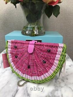 NWT Novelty Kate Spade Picnic Perfect Watermelon Crossbody Bag