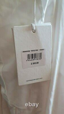 Needle & Thread Pearl Rose Ombre Layer Trailing Cami Bridal Gown UK 6-8 RRP800£