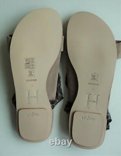 New PAPILLIO BIRKENSTOCK H. Klum Sandals MADEMOISELLE brown US10 EU41 UK7.5 N