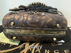 ORIGINAL MARY FRANCES 3D Steampunk HANDMADE HANDBAG With DUST BAG & CERT OF AUTH