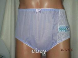 One Of A Kind Handmade Days Of The Week Nylon Tricot Style Brief Panties 38