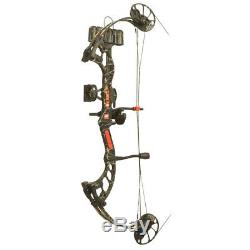PSE RTS Fever Compound Bow Skullworks Camo Right Hand 25-50lbs Made in USA