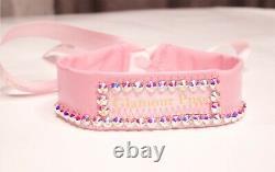 Pink Barbie Latex/ Vinyl Lingerie Set S, M, L (5pcs Set)