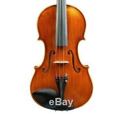 Pro Violin 4/4 Guarneri Del Gesu Model Hand-made by Luthier + Bow + Case #4