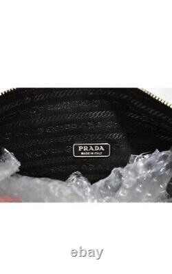 RARE Prada brown satin shoulder bag