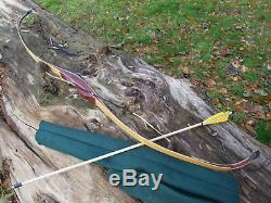 Saluki'The Turk' USA hand made bow with arrow shelf! Lukas Novotny