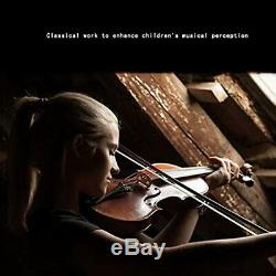 Solid Wood Violin Handmade European Original Violin Pro Test Performance Bow Ins
