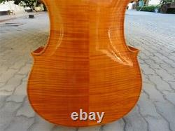 Strad style SONG Brand 4/4 cello, huge and resonant sound, flames maple back#14701