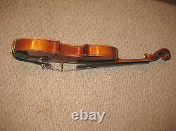 Stradivarious-hand Made Copy-germany-cremona-3/4 Violin-hardcase-bow-rare-clean