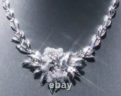 The Most Breathtaking 18k Gold 64.3gr 4.75ct Diamond Necklace
