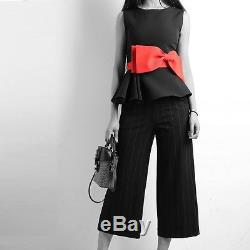 Top Tunic&Ankle Pants&red bow 2 Pc Evening Set Wear to Work Size(16-18)1X G794