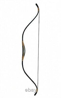 Traditional Hungarian Scythian Bow 40# Handmade Fibreglass Archery with 5 arrows