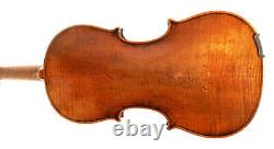 VINTAGE/OLD ANTIQUE HandMade Solid Master Viola+Case&BowBohemian mannerGermany