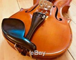 Vintage A. R. Seidel (Handmade) German 4/4 Violin with New Bow + Case