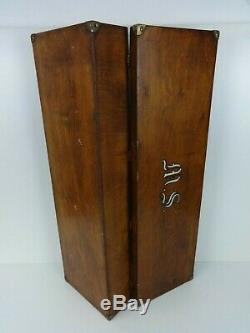 Vintage Bow And Arrow Box Wooden Handmade Traditional Storage Large Rectangle
