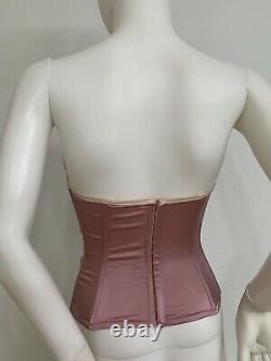 Vintage Galliano For Dior Corset Bustier MadeInFrance C Cup