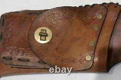 Vintage Handmade Leather Bow Quiver