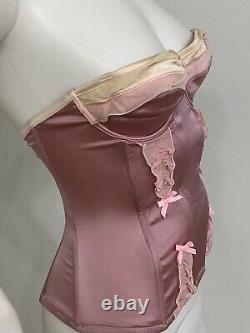 Vintage John Galliano For Christian Dior Corset Bustier MadeInFrance Rare C Cup