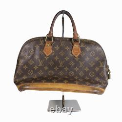 Vintage Louis Vuitton Alma Hand Bag Monogram Brown PM SD0012 Made in France