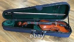 Vintage Scott Cao Violin & Bow with case Hand Made copy of Antonius Stradivarius