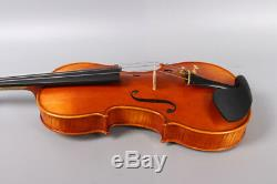 Violin 4/4 Hand made Stradivari Advance Flame Maple Spruce With Case Bow #3160