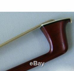 Violin Bow, Quality Hand Made, 4/4 Full Size, Pernambuco, Ebony Frog, Uk Seller