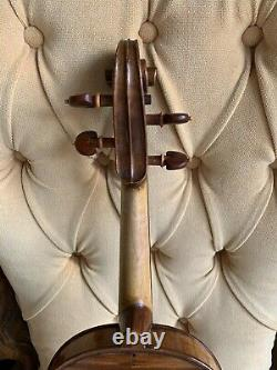 Violin Full Size 4/4 Solid Woods Handmade With Bow and Case Professional Set Up
