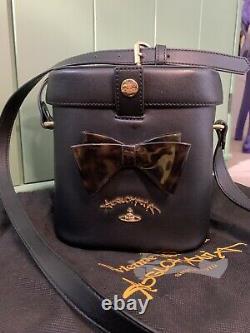 Vivienne Westwood Anglomania Somerset Leather Camera Shoulder Bag