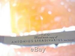 Vtg. E. R. Pfretzschner Violin bow hardshell case 1972 handmade copy of Antonius S