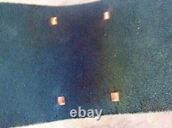 WOW, Navajo Indian Handmade Turquoise & Nickel Silver Ketoh, Bow Guard Bracelet