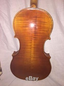 Walter Mahr MW1 Violin Full size 4/4 Hand-made in Germany 2010 hard case, bow