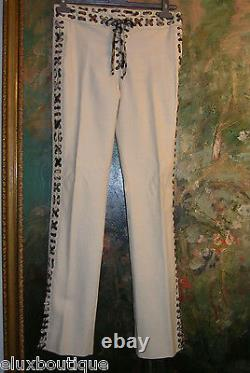 YVES SAINT LAURENT Slacks TOM FORD Pants MOMBASA COLLECTION Lace Up Trousers 38