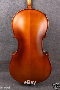 Yinfente 4/4 Cello Handmade Nice Maple Spruce Cello Bag Bow Ebony Fittings