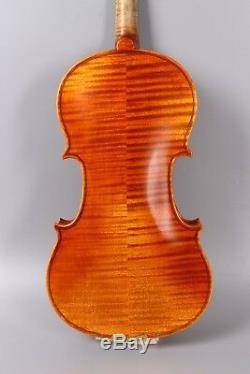 Yinfente violin 4/4 Stradivari model Advance Violin+bow+case+rosin #3129
